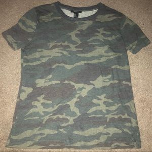Camo t-shirt from forever 21